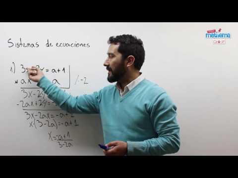 Sistemas de ecuaciones literales 1
