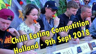 Chilli Eating Competition - Eindhoven, Holland (Netherlands) - Sept 9th 2018