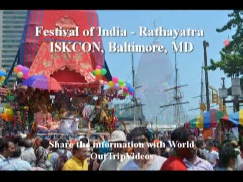 Pictures of Festival of India - Rathayatra - ISKCON, Baltimore, MD, US