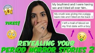 Reading Your WORST Horror Period Stories EVER 2 | Just Sharon