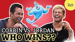 D23's Ultimate Disney Fan Quiz with Jordan Fisher and Corbin Bleu