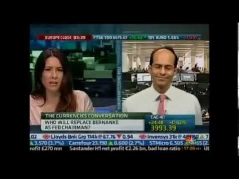 Ashraf Laidi on CNBC on the GDP, FOMC & Summers/Yellen - Jul 30, 2013 Chart