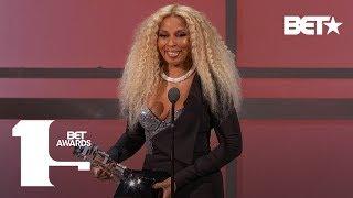 Mary J. Blige Receives Lifetime Achievement Award! | BET Awards 2019