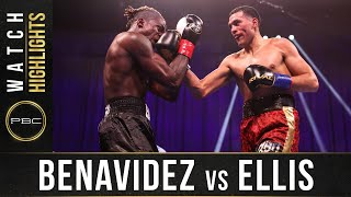Benavidez vs Ellis HIGHLIGHTS: March 13, 2021 - PBC on SHOWTIME