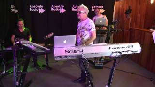 Howard Jones performs 'Equality' exclusively for Absolute Radio
