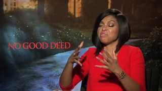Taraji P. Henson Says She Hurt Idris Elba's Feelings While Filming No Good Deed!