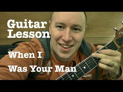 Baixar When I Was Your Man- Guitar Lesson- Bruno Mars  (Todd Downing)