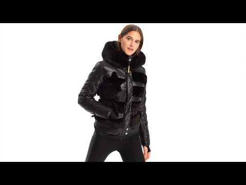 Rossignol JCC Drawi Down Womens Jacket in Black