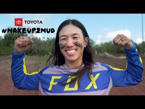 Toyota #Makeup2Mud Laura Fong Yee