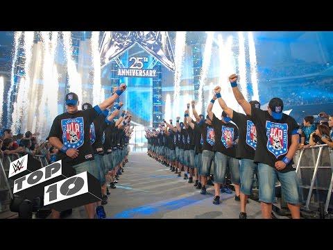20 Greatest WrestleMania Entrances: WWE Top 10 Special Edition