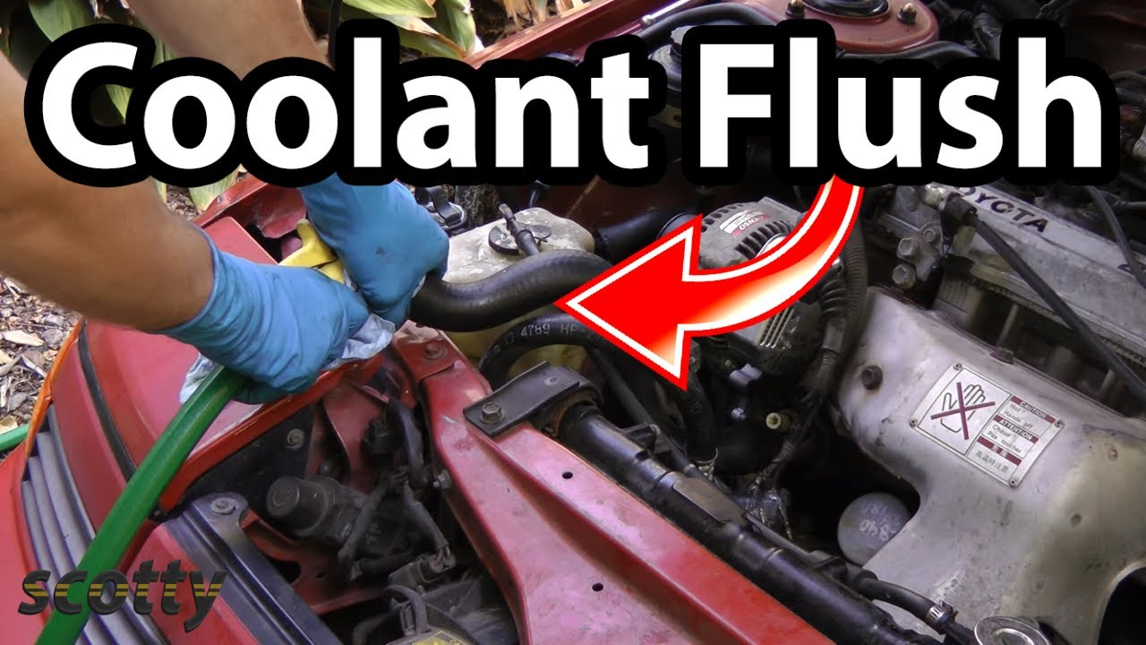 Flushing Your Car S Cooling System Youtube