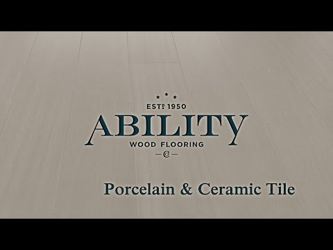 Porcelain & Ceramic Tile Flooring