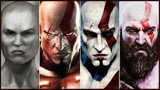 La Historia de Kratos - God of War (Ascension, Chains of Olympus, 1, Ghost of Sparta, 2 y 3)