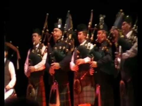 Glasgow Skye and Royal Scots Assoc Pipe Band - Liederhalle, Stuttgart