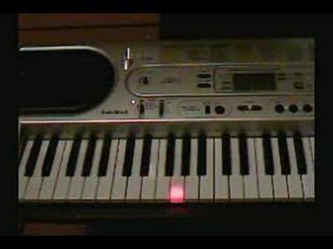 the pink panther on piano - como tocar la pantera rosa en pi