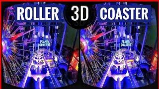 Best VR Top 2 Roller Coaster 3D VR Videos 3D SBS for VR BOX 3D not 360 VR