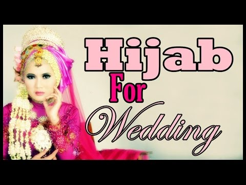Tutorial Hijab Pengantin   Pashmina Hijab Tutorial by Didowardah Part #47