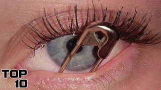 Top 10 Scary Things Found In EYES
