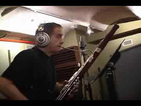 Daniel Smith - Making of Smokin' Hot Bassoon Blues, Part 2 online metal music video by DANIEL SMITH