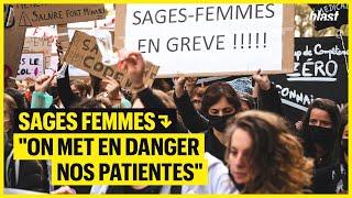 "SAGES-FEMMES : ""ON MET EN DANGER NOS PATIENTES"""