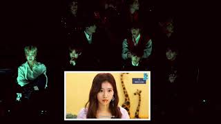 BTS reaction to Twice full GMA 2018 (Heartshaker, what is Love, DTNA, VCR, Yes or yes)