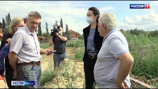 Оксана Фадина проинспектировала самые проблемные места Омска