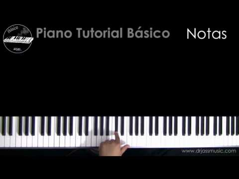 DRJASSMUSIC Basico Piano Tutorial - Notas