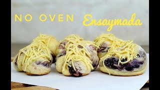 No Oven Ensaymada | How to bake ensaymada (Without Oven)