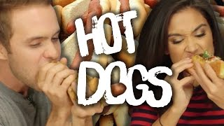 6 Crazy Hot Dogs from Pink's (Cheat Day)