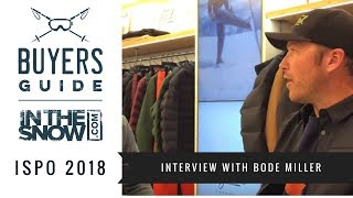 Interview with Bode Miller ahead of the Pyeongchang Winter Olympics