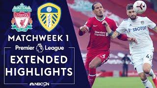 Liverpool v. Leeds United | PREMIER LEAGUE HIGHLIGHTS | 9/12/2020 | NBC Sports
