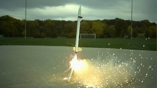 6ft Rockets in Slow Motion - The Slow Mo Guys
