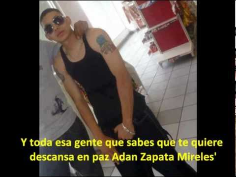 Homenaje a Adan Zapata - Srath Ft Reck One' (con Letra)