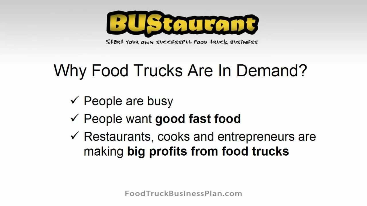 How to Write a Food Truck Business Plan (Case Study) | FTE Episode 024
