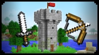 ✔ Minecraft: How to make a Castle Tower