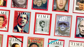 """TIME Magazine - All """"Person of the Year"""" covers (1927 until 2017)"""