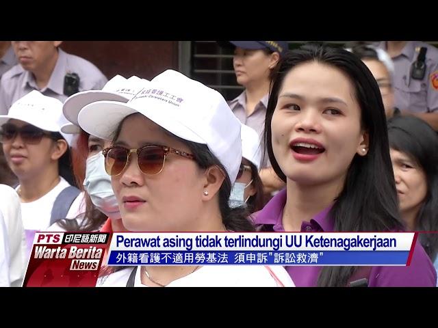 Perawat asing protes pekerjaan tanpa liburan
