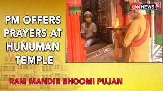 PM offers prayers at Hanumangarhi Temple before Ram Mandir..