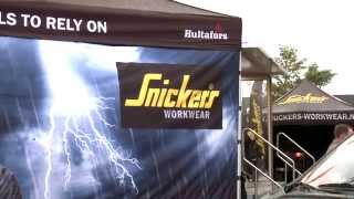 Hultafors Snickers on Tour