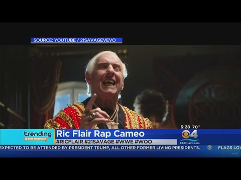 Trending: Wrestler Ric Flair Makes Cameo In Rap Video