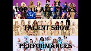 Top 15 All Stars Talent Show Performances (AS2, AS3 and AS4)