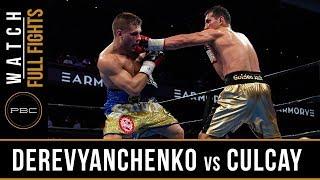 Derevyanchenko vs Culcay FULL FIGHT: April 13, 2019 - PBC on FS1
