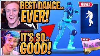 """Streamers React to the *NEW* """"WORK IT"""" Emote/Dance & """"TURBULENT"""" Wrap! - Fortnite Best Moments"""
