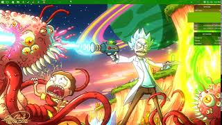 Rick and Morty Background