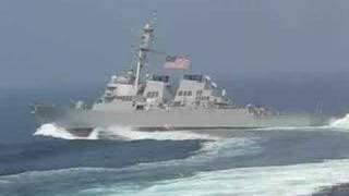 """Navy ship taking """"evasive action"""""""
