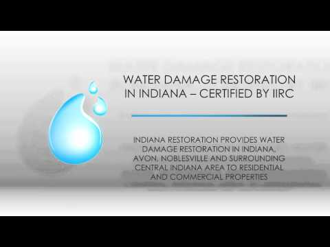 Water Damage Restoration Services in Indiana