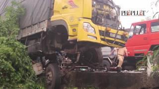 Tai nạn nghiêm trọng làm 3 người thương vong ở Huế
