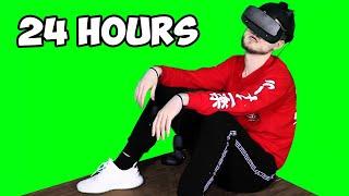Spending 24 Hours In VR Challenge