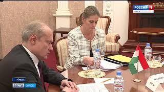 Александр Бурков и генеральный консул Венгрии Сергей Сюч заявили о намерении развивать сотрудничество