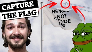 How 4chan found Shia LaBeouf's #HWNDU flag!
